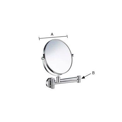 Kosmetinis veidrodis Smedbo Outline FK438 2