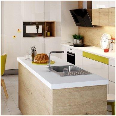 Virtuvinė plautuvė XYLO XL su maišytuvu ALPINIA 3