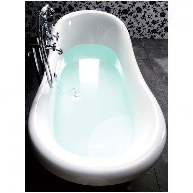 Akmens masės vonia Polysan Charleston 4