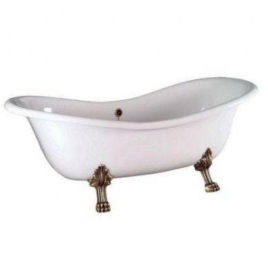 Akmens masės vonia Polysan Charleston