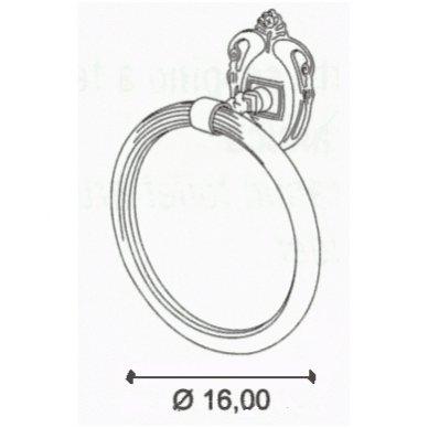All.pe Venezia laikiklis rankšluosčiui žiedas 3
