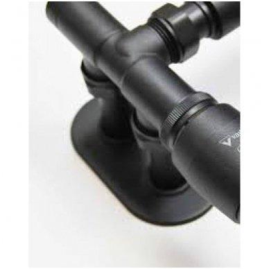 Apdailos rozetė dviguba VARIO TERM 16 - 20 mm, juoda - matinė 2