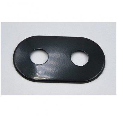 Apdailos rozetė dviguba VARIO TERM 16 - 20 mm, juoda - matinė