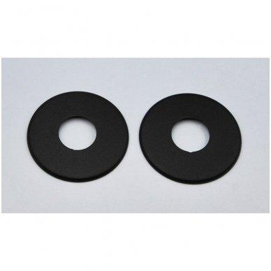 Apdailos rozetė VARIO TERM 16 - 18 mm, juoda - matinė 3