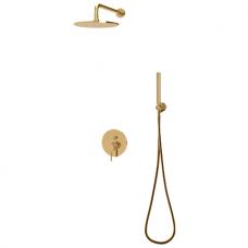 Aukso spalvos potinkinė dušo sistema Omnires Y