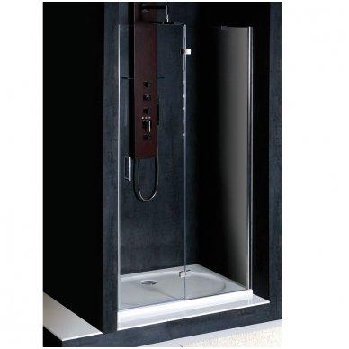 Berėmės dušo durys į nišą Polysan Vitra Line 80cm