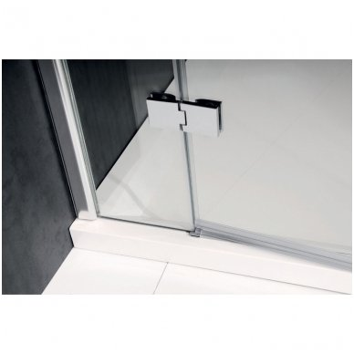 Berėmės dušo durys į nišą Polysan Vitra Line 80cm 3