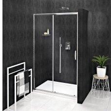 Dušo durys į niša Gelco Sigma Simply 120cm, skaidrus stiklas