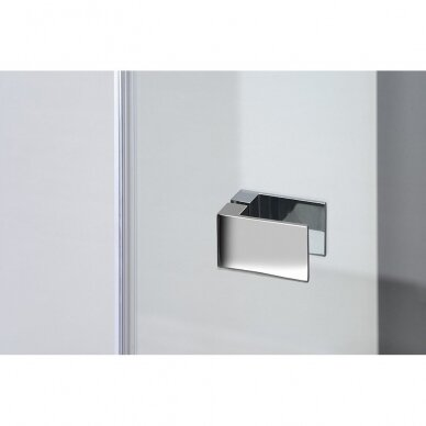 Dušo durys Polysan Fortis Line 100cm kairinės 7