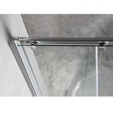 Dušo durys į niša Gelco Sigma Simply 120cm, skaidrus stiklas 3