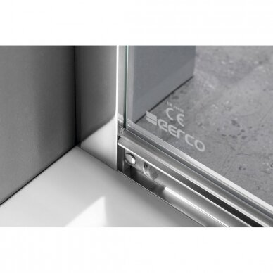 Dušo durys į niša Gelco Sigma Simply 120cm, skaidrus stiklas 5