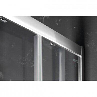 Dušo durys į niša Gelco Sigma Simply 120cm, skaidrus stiklas 6