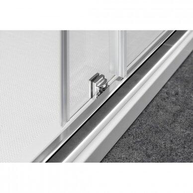 Dušo durys į niša Gelco Sigma Simply 120cm, matinis stiklas 7