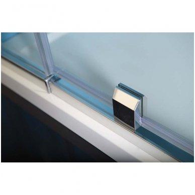Dušo durys į nišą Polysan Easy Line 880-1020mm 4