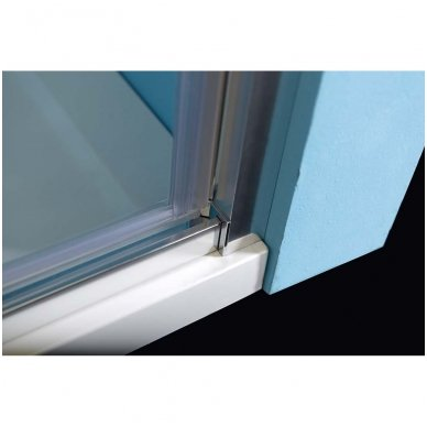 Dušo durys į nišą Polysan Easy Line 760-900mm 5