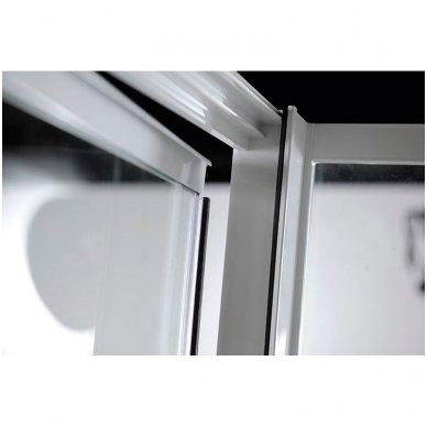 Dušo durys nišai Aqualine Amico G70 9