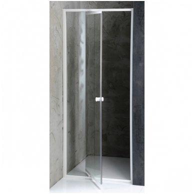 Dušo durys nišai Aqualine Amico G80
