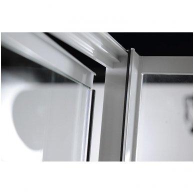 Dušo durys nišai Aqualine Amico G100 9