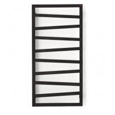 Elektrinis rankšluosčių džiovintuvas Terma Zigzag 107x50cm, juodas