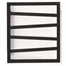 Elektrinis rankšluosčių džiovintuvas Terma Zigzag 60x50cm, juodas