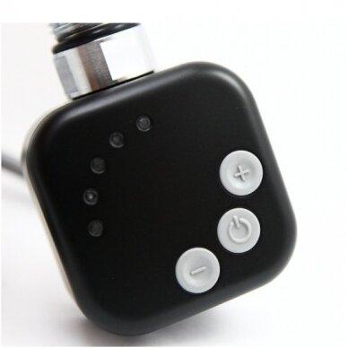 Elektrinis džiovintuvas Elegance 50x120cm juodos matinės spalvos 2