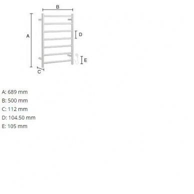 Elektrinis rankšluosčių džiovintuvas Smedbo FK700 2