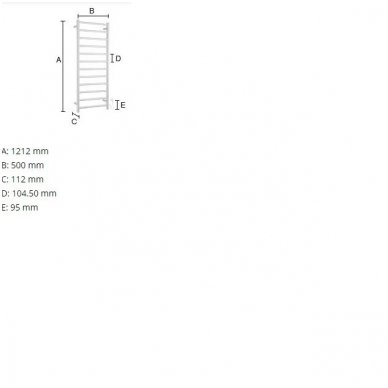 Elektrinis rankšluosčių džiovintuvas Smedbo FK701 2