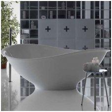 Galassia Pietraluce lieto akmens laisvai pastatoma vonia
