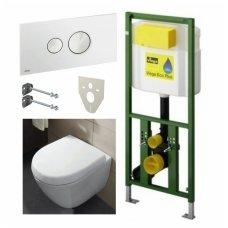 Viega potinkinis WC komplektas su Villeroy & Boch Subway Compact