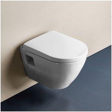 Grohe WC rėmo ir pakabinamo klozeto Grohe Serel One su soft close dangčiu komplektas 2