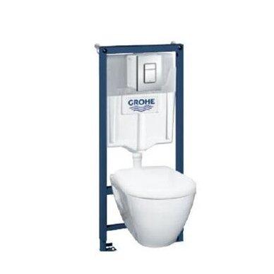 Grohe WC rėmo ir pakabinamo klozeto Grohe Serel One su soft close dangčiu komplektas