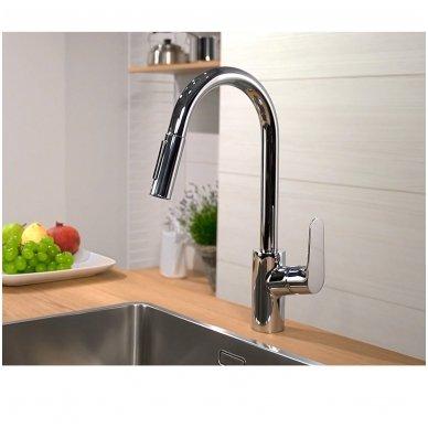 Hansgrohe Focus 31815000 virtuvinis maišytuvas su dušu 4