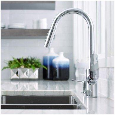 Hansgrohe Focus 31815000 virtuvinis maišytuvas su dušu