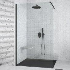 Juoda dušo sienelė Besco Aveo Black
