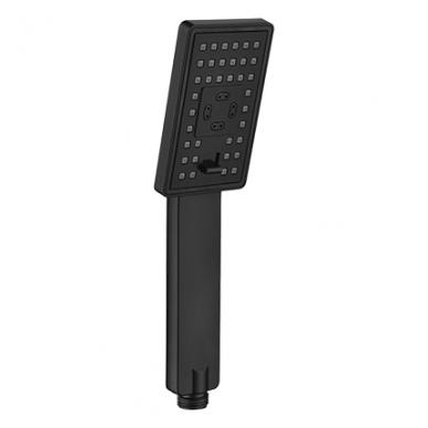 Juoda potinkinė termostatinė dušo sistema Omnires SYS PM11 2