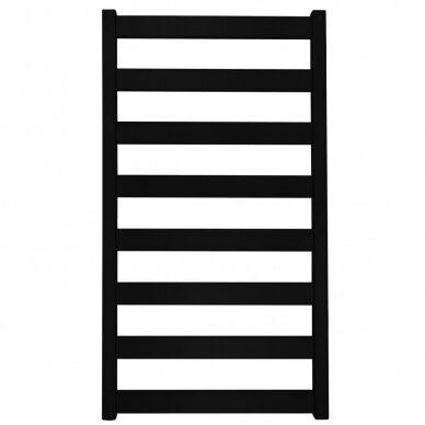 Juodas elektrinis Terma Vivo džiovintuvas 91x50 cm