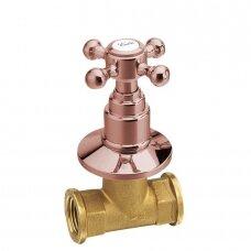 Karšto vandens ventilis Antea rožinio aukso spalva