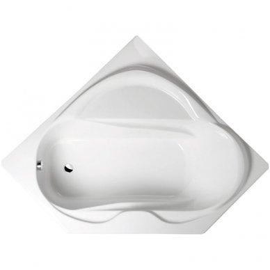 Kampinė vonia LIDIE 140x140x45cm Akrilinė 07111