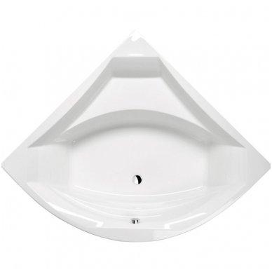 Kampinė vonia ROSANA 140x140x49cm Akrilinė 64119