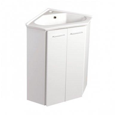 Kampinė vonios spintelė Zoja  41x41x74cm
