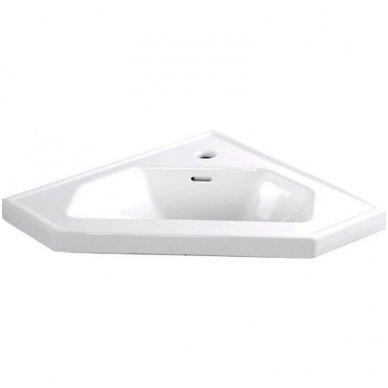 Kampinė vonios spintelė Zoja  41x41x74cm 2