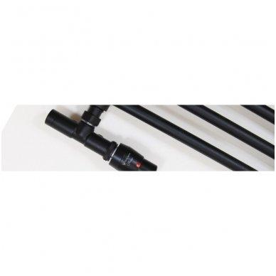 Kampinis termostatinis elementas VARIO TERM Unico, juodas 2
