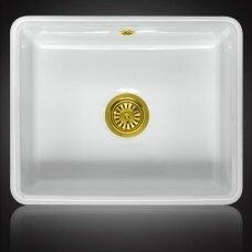 Keramikinė plautuvė MATARO Gold  montuojama iš apačios