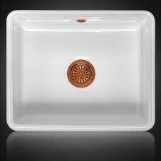 Keramikinė plautuvė MATARO copper montuojama iš apačios