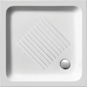 Keramikinis kvadratinis dušo padėklas GSI Standart 90x90