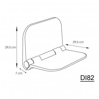 Kėdutė pakabinama DINO 38x30cm 3