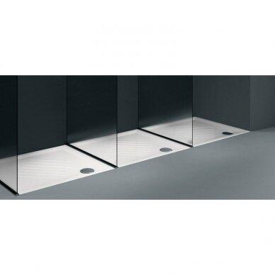 Keramikinis kvadratinis dušo padėklas GSI Standart 90x90 3