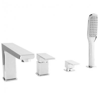 Keturių dalių vonios maišytuvas Omnires Parma PM7432 CR