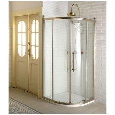Klasikinio stiliaus pusapvalė dušo kabina Gelco Antique