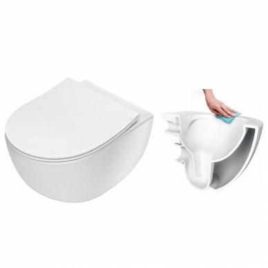 Komplektas: Grohe potinkinis wc rėmas su Peonia Rimless 2